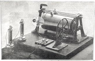 Poulsens original cylinder telegraphone