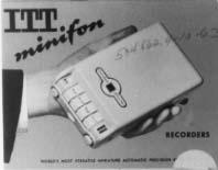 Minifon recorder