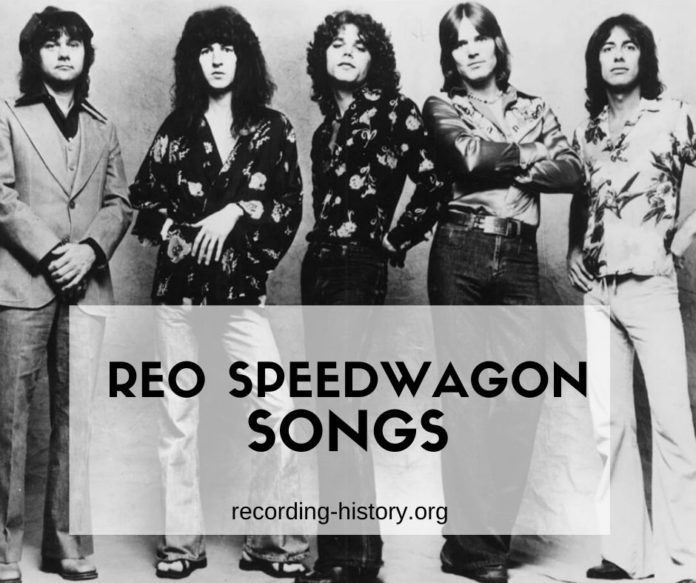 REO Speedwagon songs