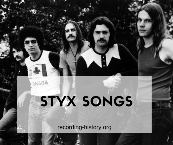 Styx songs
