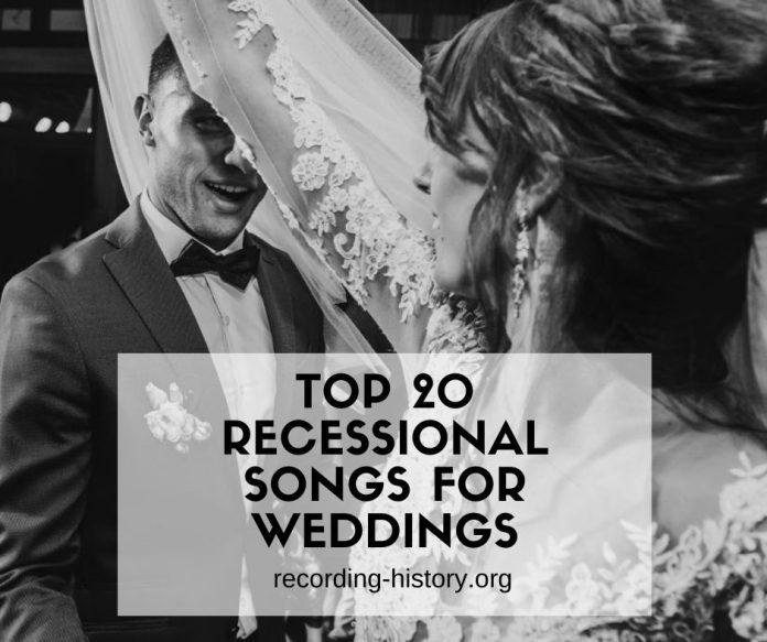 Wedding Recessional Songs Gospel: 20+ Best UpBeat Wedding Recessional Songs In 2020