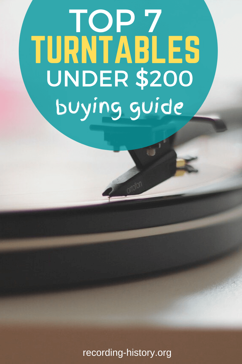 Top 7 the best turntables under $200