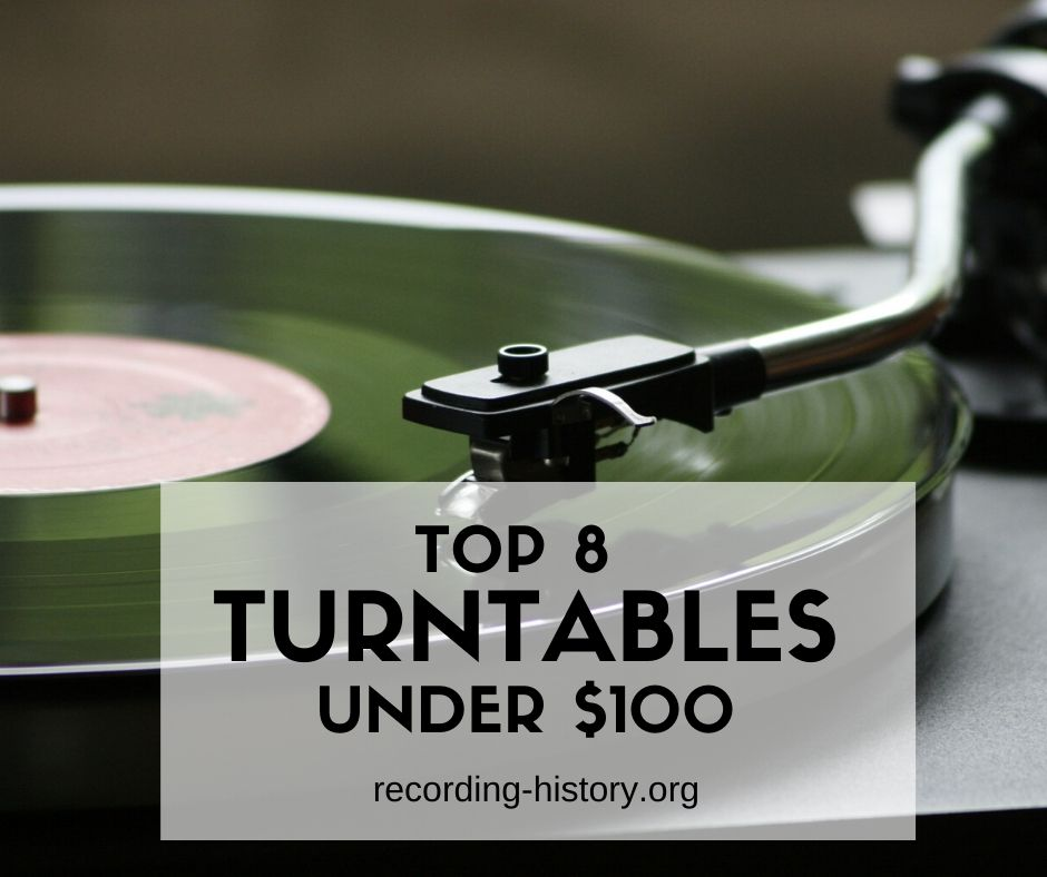 best turntables (record players) under $100
