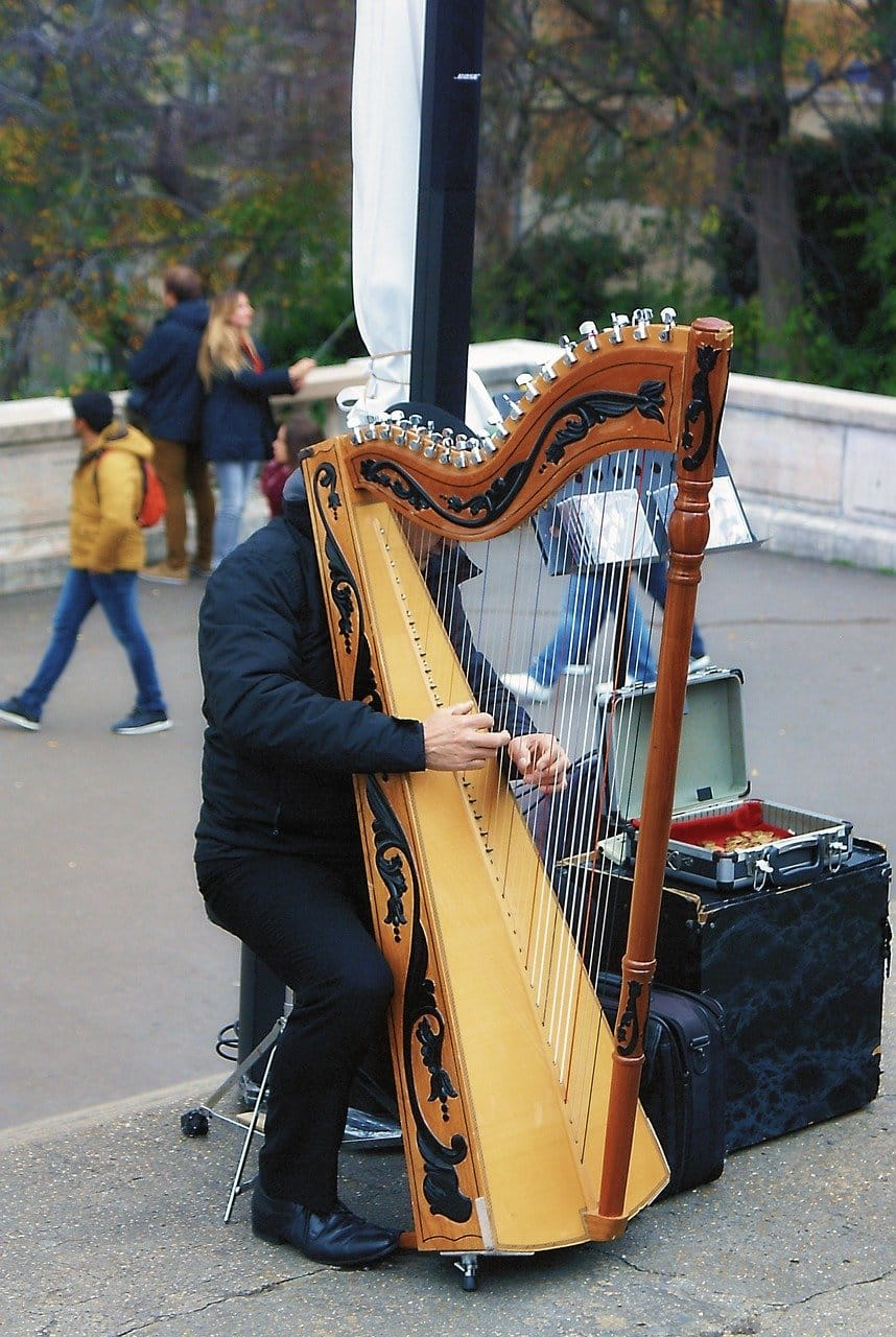 Harp - 10 hardest instruments to play