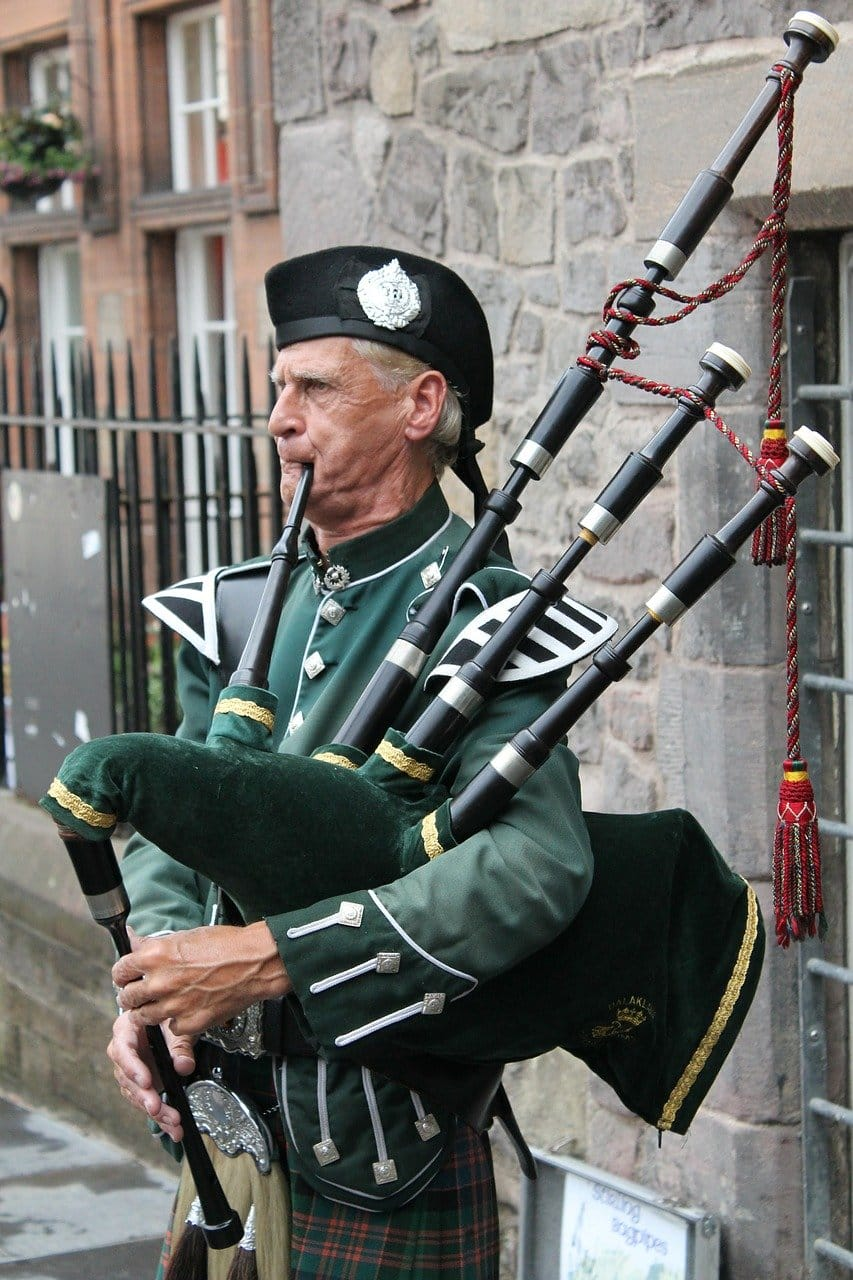 Bagpipes - 10 hardest instruments to play
