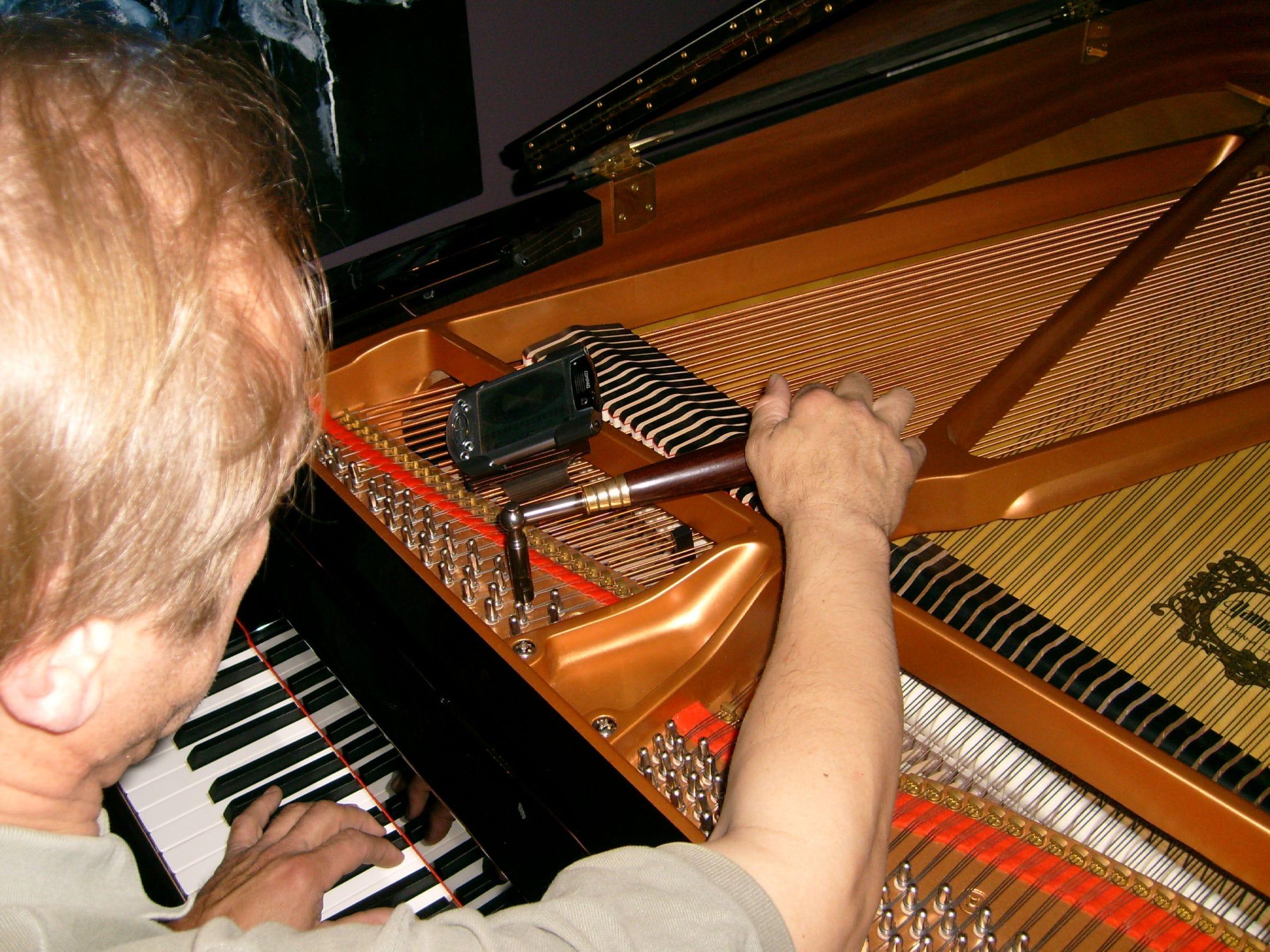 Grand Piano Tuning