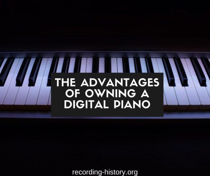 Digital piano vs real piano