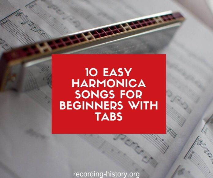 Easy harmonica songs with tabs for beginners