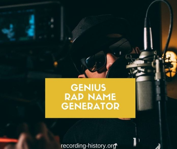best rap name generator
