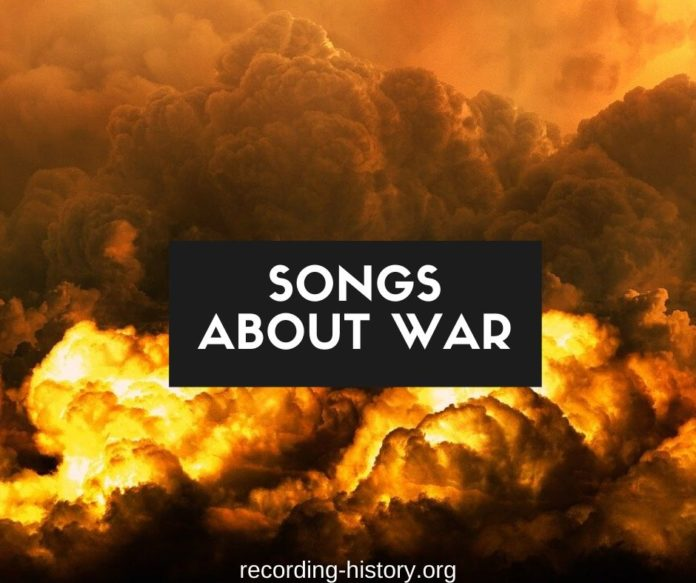 Songs about war